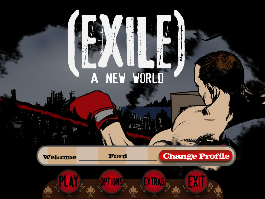 Exile Issue 1 Cover