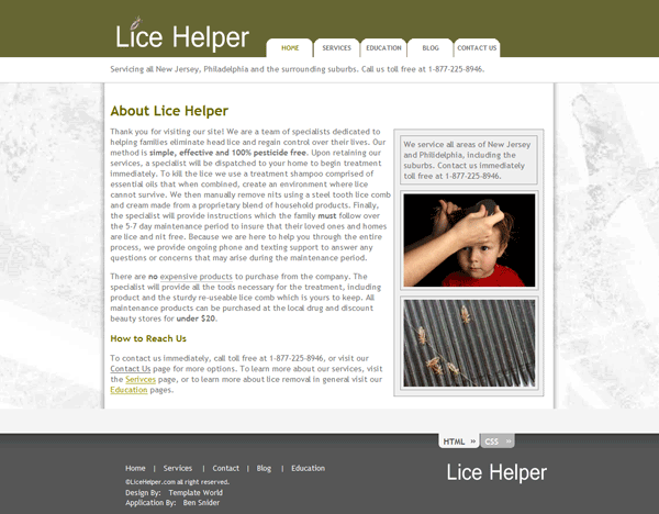 Lice Helper
